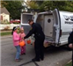 Kent Police Officers Handing Out Halloween Candy