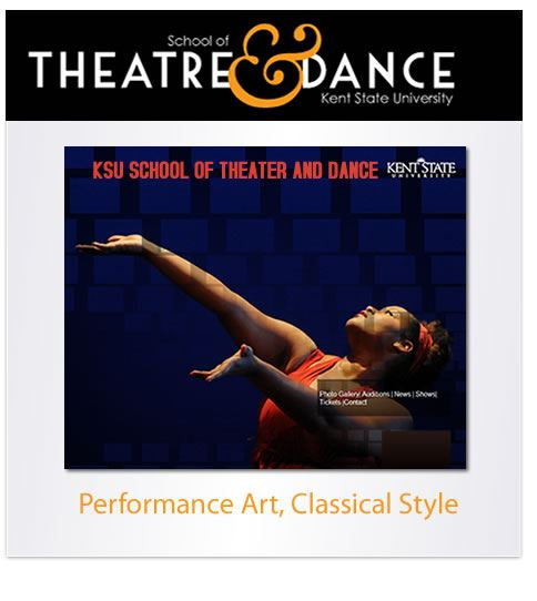 School of Theater and Dance at Kent State University